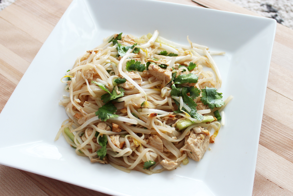 Cold Noodle Shredded Chicken
