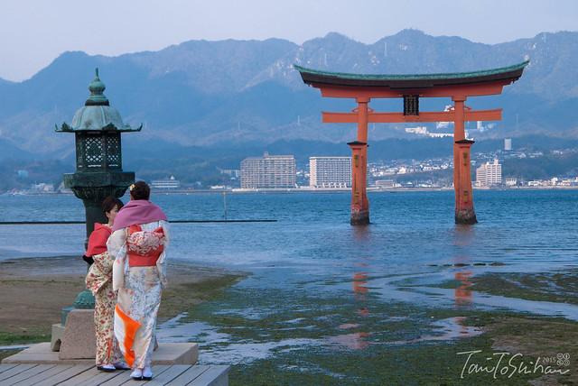 宮島 厳島神社 Miyajima Itsuku-shima Shrine
