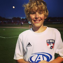 Signed with FC Dallas Predators today! #prouddad #signingday #fcdallas #05 #soccer
