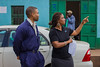 Scientists Reggie Bryant and Aisha Walcott from IBM Research - Africa's Mobility Team