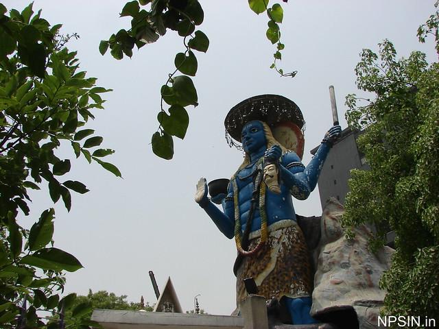 Large Kaal Bhairav statue