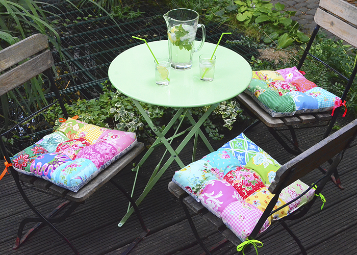 Garden Chair Cushion Tutorial