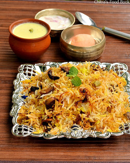 Pakistan biryani recipe ramzan special mushroom biryani recipe i tried pakistani style biryani recipe for the first time on account of ramzan festivali hope all my muslim friends and readers had a great ramadan forumfinder Choice Image