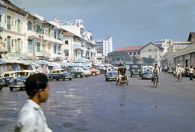SAIGON 1963-64 - Đường Phan Bội Châu - Cửa Đông chợ Bến Thành