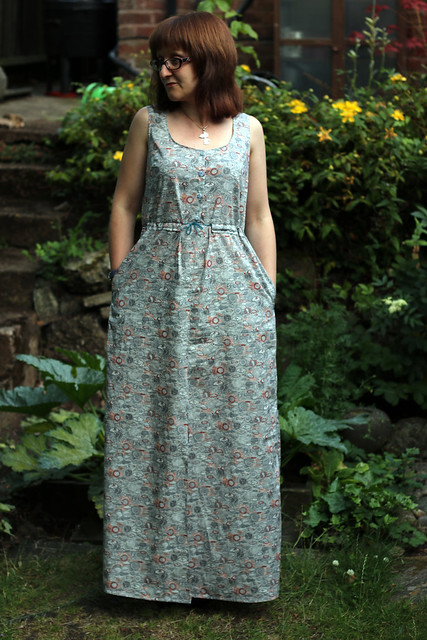 True Bias Southport Dress in Liberty fabric