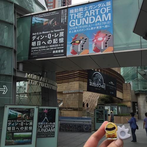 ガンダム展@東京、大阪と概ね同じ内容だったけどやっぱり楽しかった