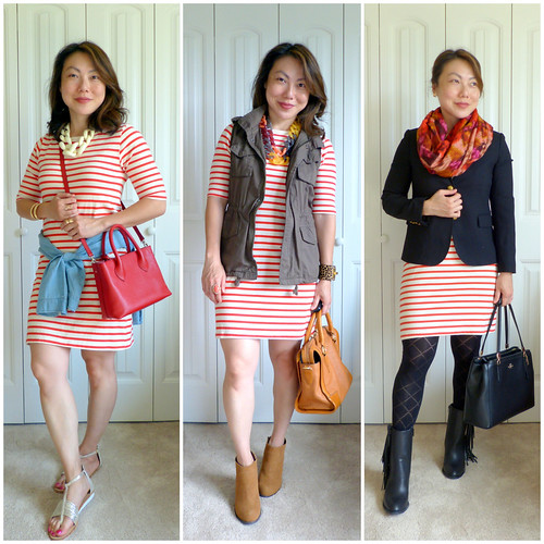 striped dres 3-ways