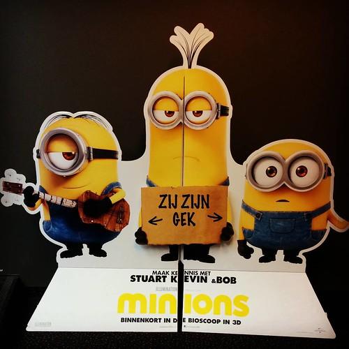 Het is zover!! #minionmania #minions