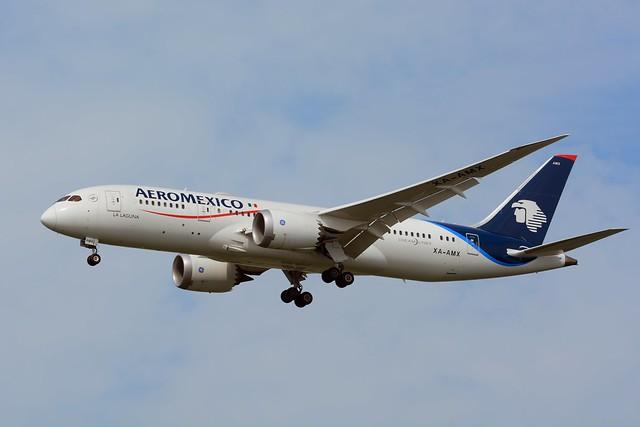 Aero Mexico, Boeing 787-8 XA-AM NRT