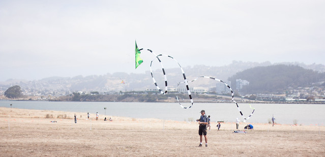 Flying Kite Loop Tricks
