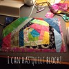 Learned how to see a crazy quilt block :) it's going to be for a tarot card cloth. #tarot #sewing #quilt