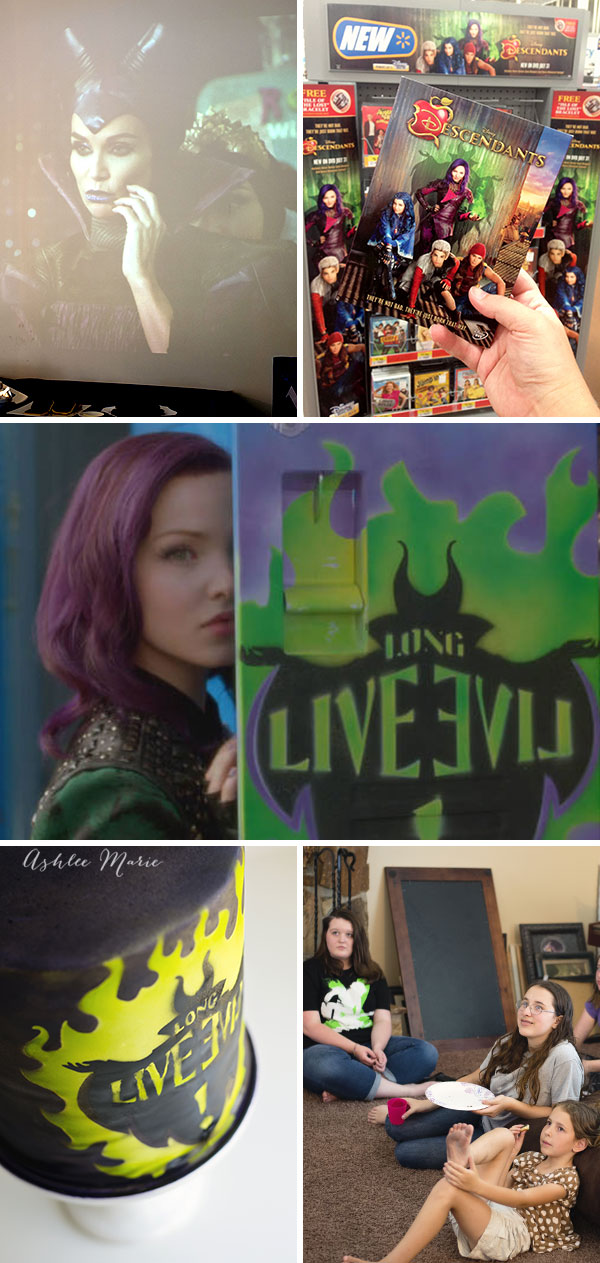 the perfect EVIL party celebrating Dinseys favorite villians children in this Descendants movie party