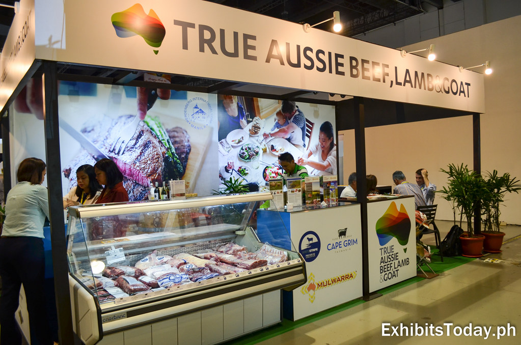 True Aussie Beef, Lamb & Goat Exhibit Booth