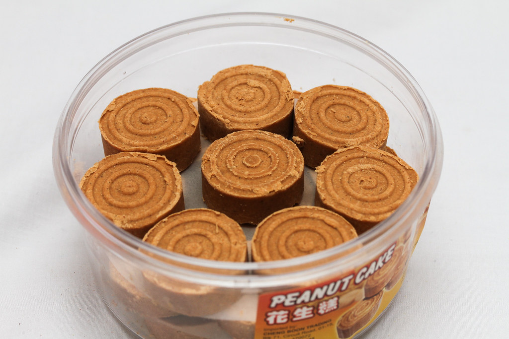 50 Childhood Snacks Singaporeans Love: Peanut cakes