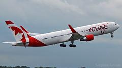 Air Canada Rouge Boeing 767-33A/ER C-FIYE