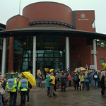Anti-fracking campaigner Tina Louise Rothery's court case in Preston protest - 5