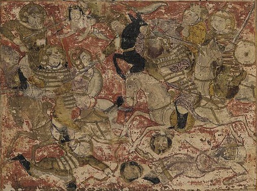 The Battle of Siffin, from Book of history by Balami