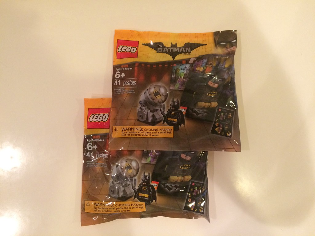 Lego Batman Movie 'Bat Signal' Polybag