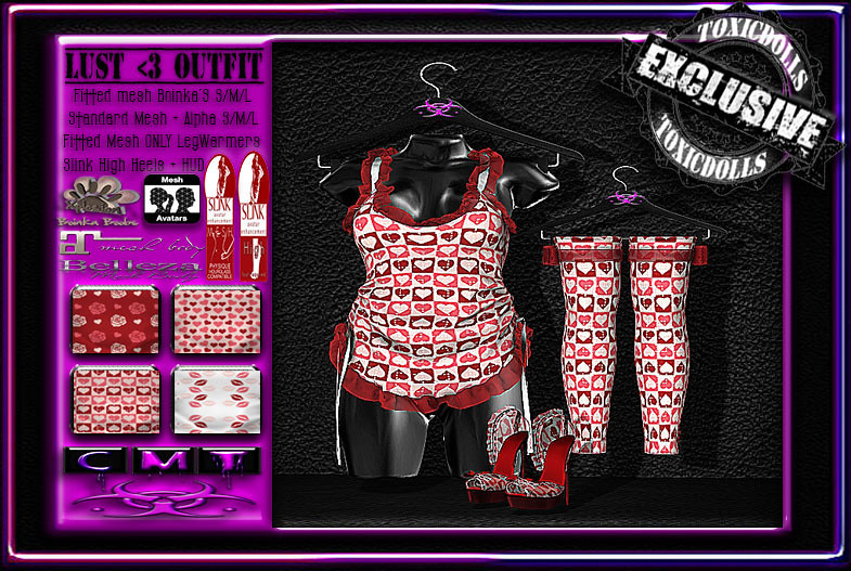 LUST<3 OUTFIT [A] - SecondLifeHub.com