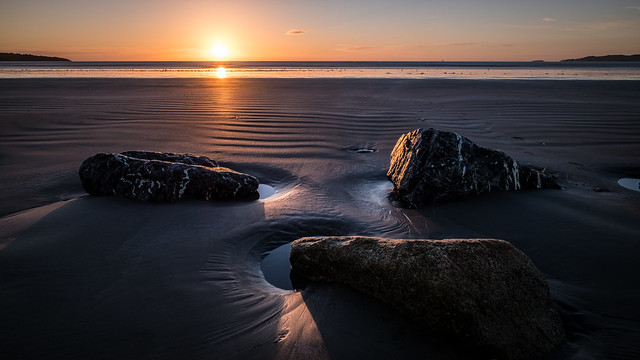 Sunrise in Bull Island - Dublin, Ireland - Landscape photography