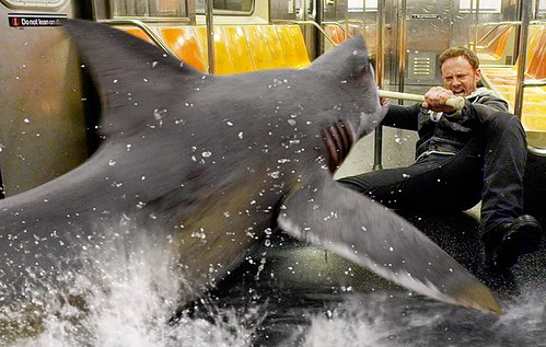 SharknadoActionScene