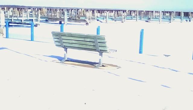 Winter bench - HBM