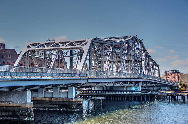 Point Street Bridge by Robert Magina