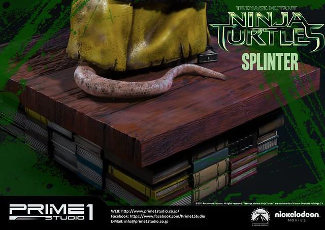 Prime 1 Studio 忍者龜:變種世代【史林特】SPLINTER 1/4 比例全身雕像