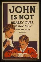 John is not really dull - he may only need his eyes examined (LOC)