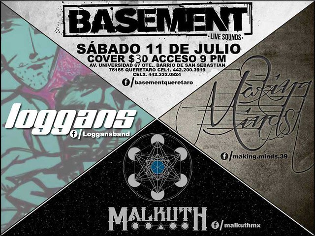 Malkuth, Loggans y Making Minds