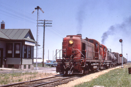GM&O RS3 #1522 in Murrayville IL on 6/24/72