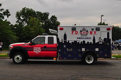 FDNY 150th Anniversary Ambulance