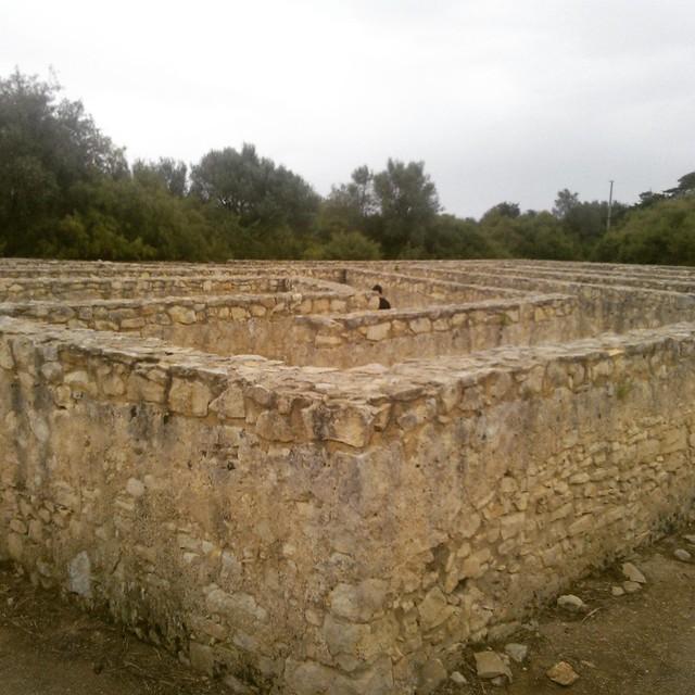 Labirinto in muratura - Castello di Donnafugata a Ragusa