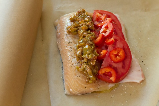 Primo Chipotle Tapenade fish