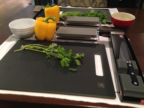 Cooking with zwilling