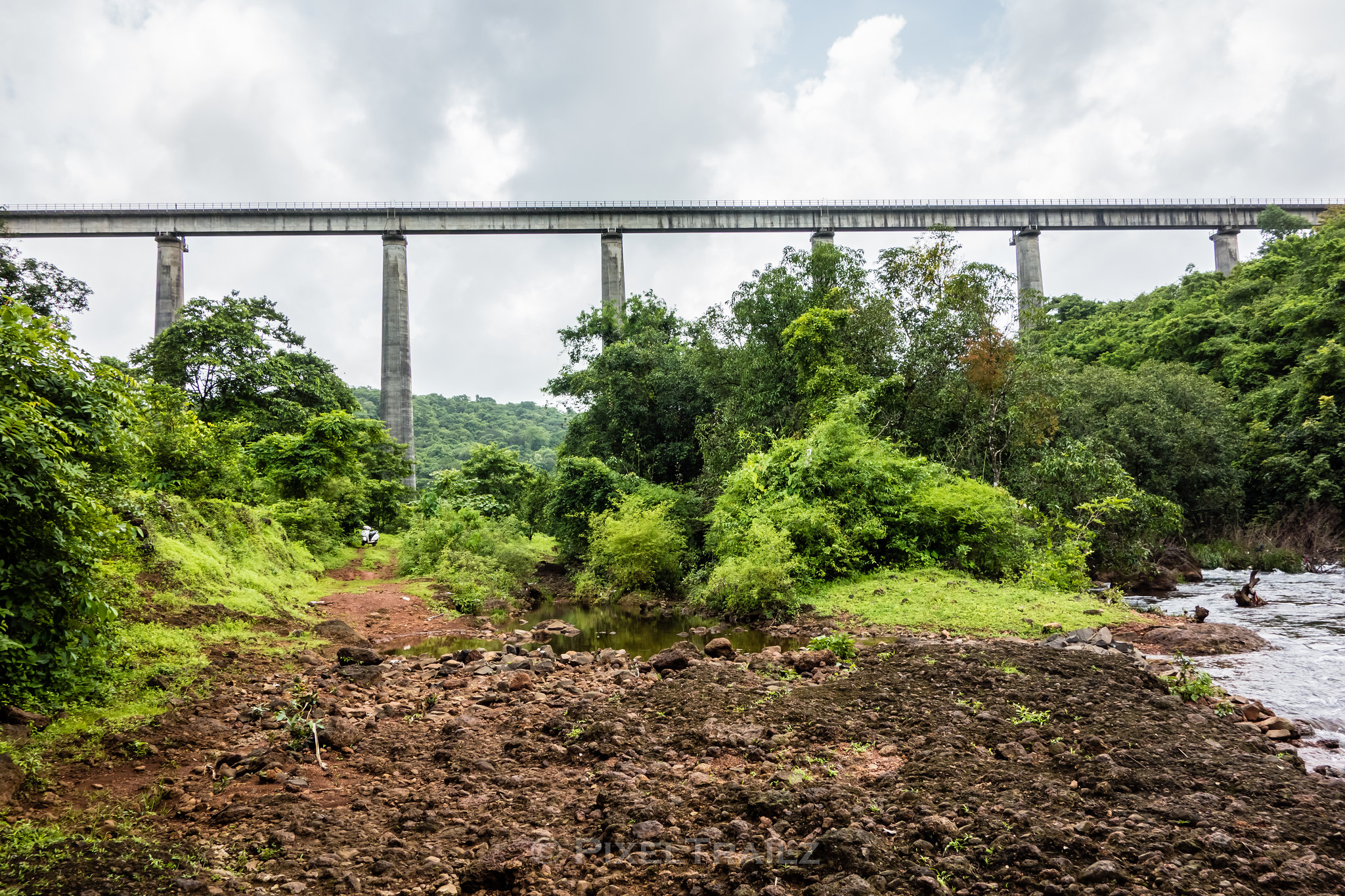 Panvel River & The Viaduct