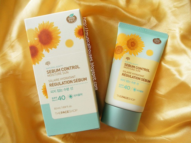 The Face Shop Sunscreen Natural Sun Sebum Control