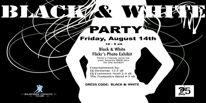Studio 25 Black and White Exhibit and Party
