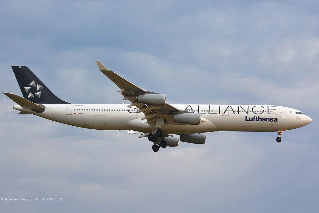 D-AIGN - A343 - Lufthansa