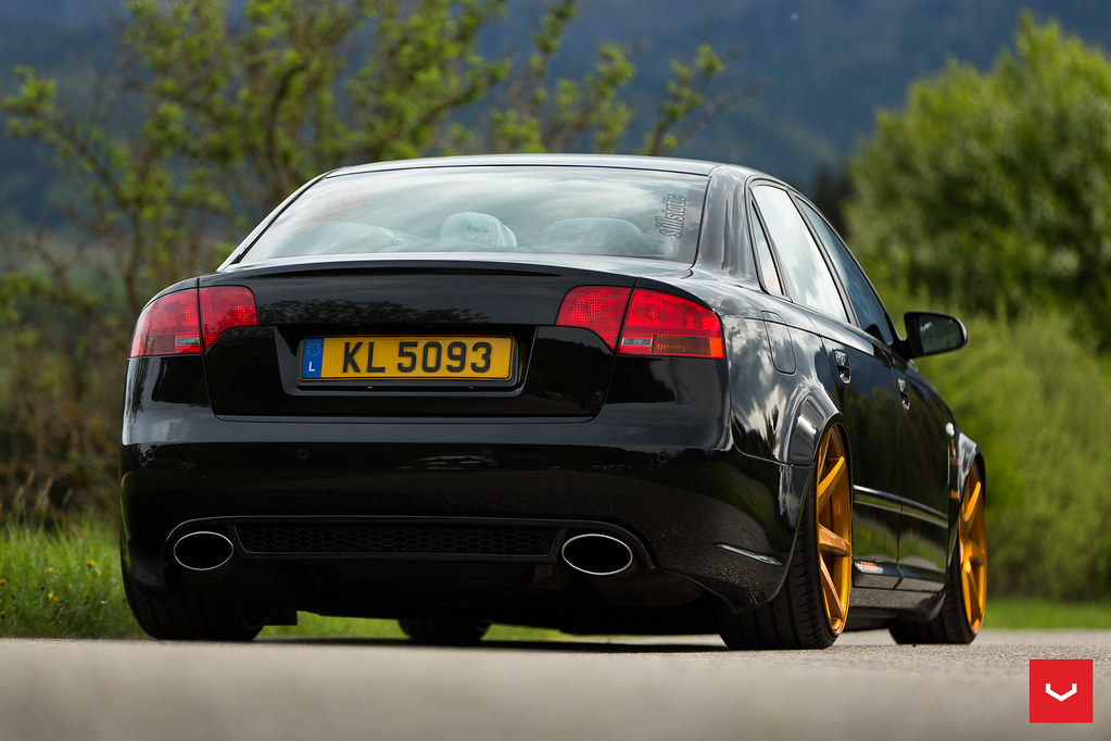 b7 audi rs4 20 custom vossen cv7. Black Bedroom Furniture Sets. Home Design Ideas