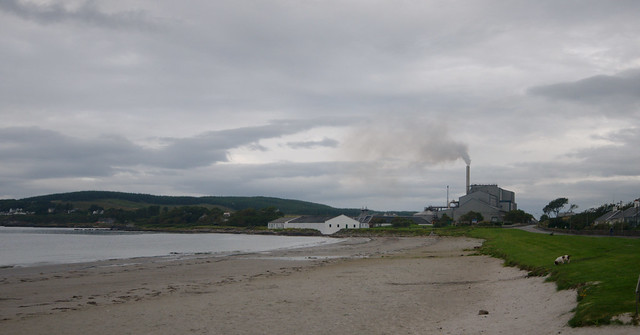Port Ellen maltings and old distillery