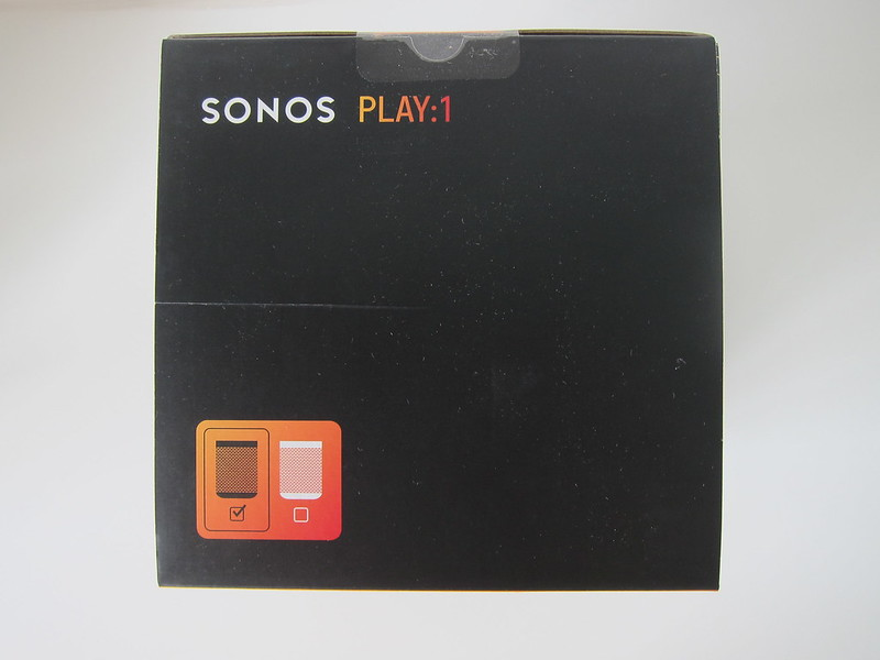 Sonos PLAY:1 (Black) - Box Top