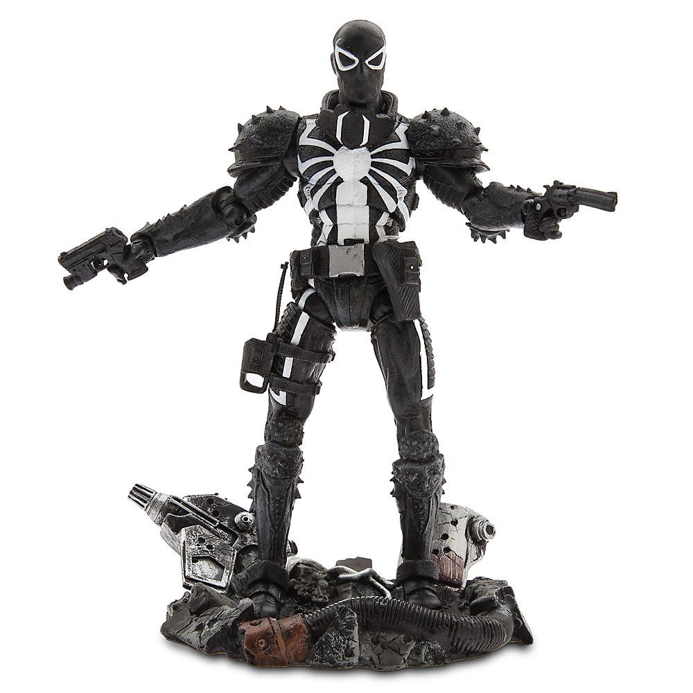 Marvel Select【猛毒特工:閃電.湯普森】Agent Venom Flash Thompson 7 吋可動人偶作品