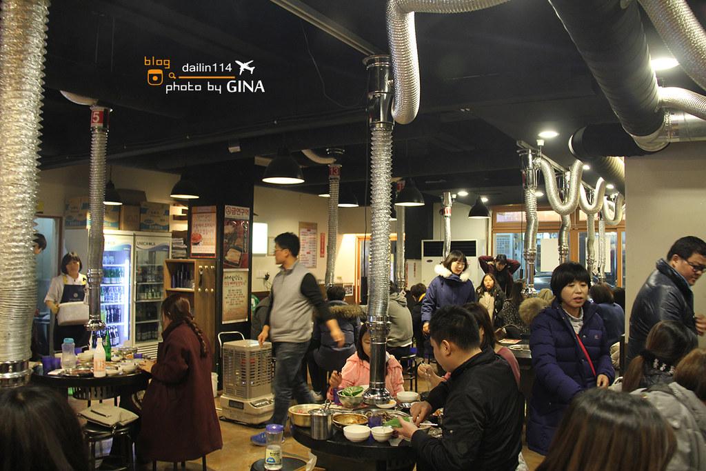 【濟州島美食】韓國平價烤肉 新村食堂連鎖店 冷麵好爽口+古早味搖搖便當 @GINA LIN