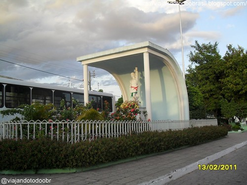 Monteirópolis - Imagem em homenagem a São Sebastião