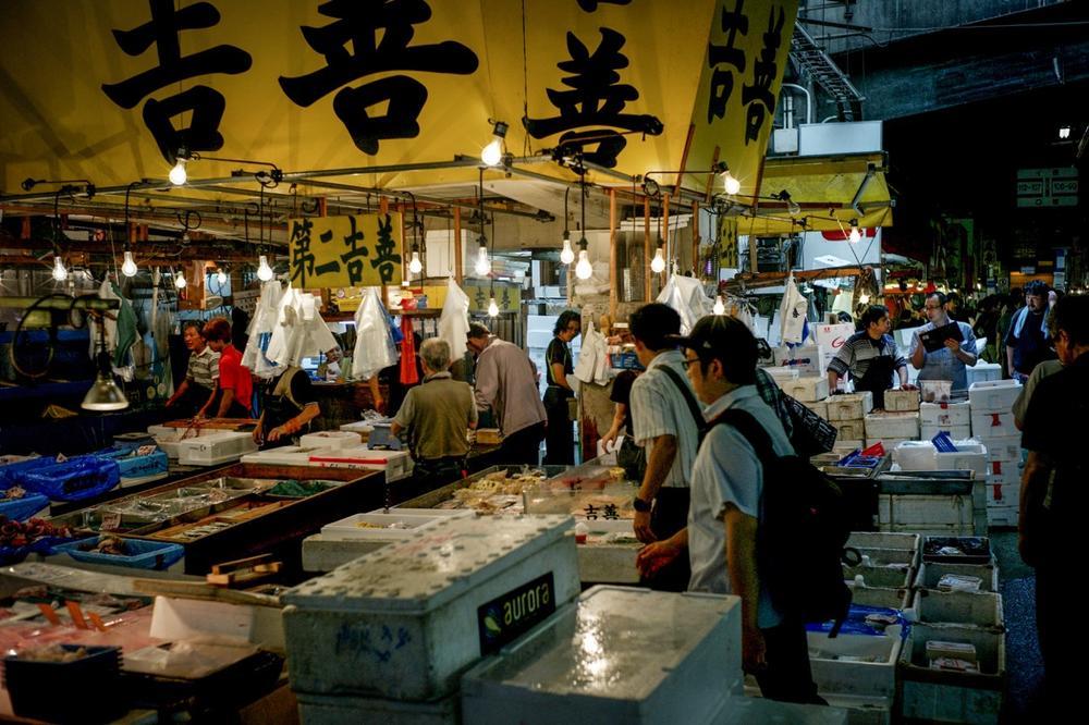 風情文化/探访世界上最具传奇色彩的东京築地魚市 Tsukiji Fish Market6