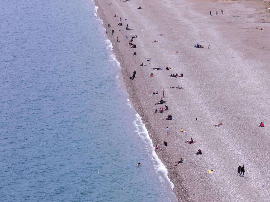 遼闊的海灘