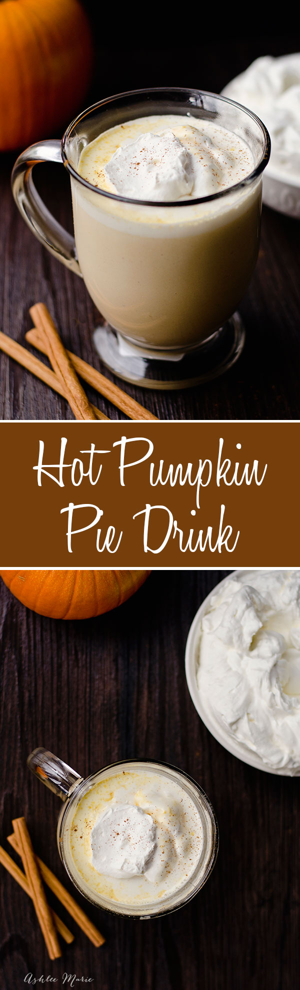 a pumpkin version of hot chocolate, it may sound strange but it's divine.  Creamy, warm with a great pumpkin flavor but not too strong I enjoy this all fall and everyone who tries it falls in love