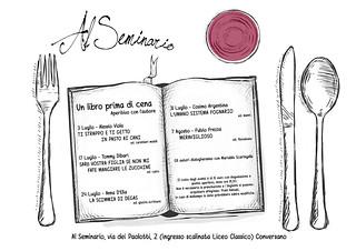 Conversano- Un libro prima di Cena - Alessio Viola