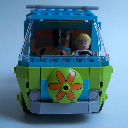 LEGO Scooby van